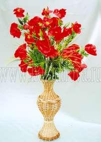Композиции из цветов в напольные вазы